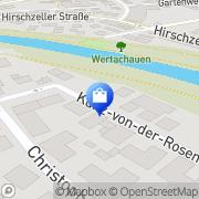 Karte Lorenz Friedrich Kaufbeuren, Deutschland