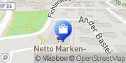 Karte Netto Filiale Kaufbeuren, Deutschland