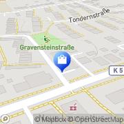 Karte Netto City Filiale Lübeck, Deutschland