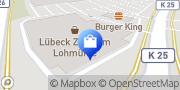 Karte Body Attack Premium Store Lübeck Lübeck, Deutschland