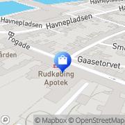 Kort Rudkøbing Apotek Rudkøbing, Danmark