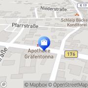 Karte Apotheke Gräfentonna Tonna, Deutschland
