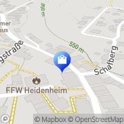 Karte Gerda Stark Heidenheim, Deutschland