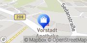 Karte Vorstadt Apotheke Bärbel Hansen e. Kfr. Ratzeburg, Deutschland