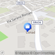 Map CONAD Cintolese, Italy