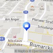 Karte Nikolaus-Apotheke Leitershofen, Deutschland