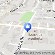 Karte St. Antonius-Apotheke Stadtbergen, Deutschland