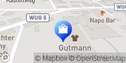 Karte Gutmann Bekleidungs GmbH & Co. KG Weißenburg, Deutschland