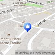 Karte Netto City Filiale Coburg, Deutschland