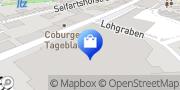 Karte Galeria Kaufhof Coburg Coburg, Deutschland