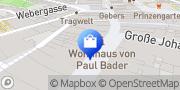 Karte Vodafone Shop Coburg, Deutschland