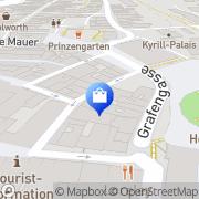 Karte Montag Warenhaus Coburg, Deutschland