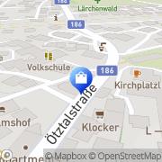 Karte Lunger Modehaus Längenfeld, Österreich