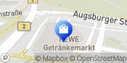 Karte PENNY-Markt Discounter Mering, Deutschland