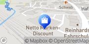 Karte Netto Filiale Mering, Deutschland
