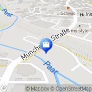 Karte Plus Warenhandelsges. Mering, Deutschland