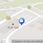 Karte Aldi GmbH & Co. KG Stein, Deutschland