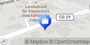 Karte Netto Filiale Dörfles-Esbach, Deutschland