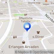 Karte Starbucks Coffee Deutschland Erlangen, Deutschland