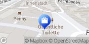 Karte Parfümerie Douglas Helmstedt, Deutschland