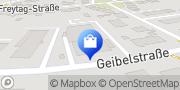 Karte Netto Filiale Erfurt, Deutschland
