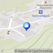 Karte Ferienhotel Haus Hammersbach der GdED Grainau, Deutschland