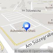 Karte Schell Halberstadt, Deutschland
