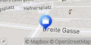 Karte Vodafone Shop Nürnberg, Deutschland