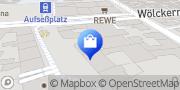 Karte Netto City Filiale Nürnberg, Deutschland