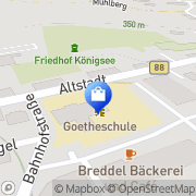 Karte Netto Filiale Königsee, Deutschland
