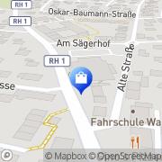 Karte Netto Filiale Schwanstetten, Deutschland