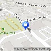 Karte NKD Mini-Preis-Markt Hollfeld, Deutschland
