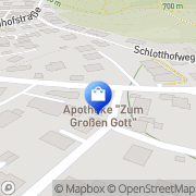 Karte Apotheke zum Großen Gott - Mag pharm Ayoub Sherif Innsbruck, Österreich