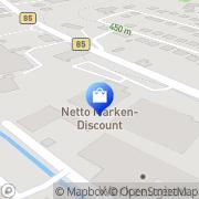 Karte Netto Filiale Ludwigsstadt, Deutschland