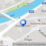 Karte Cheeky Monkey Innsbruck, Österreich