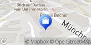 Karte Vodafone Shop Dachau, Deutschland