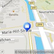 Karte Netto Filiale Berching, Deutschland