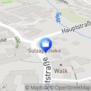 Karte Sulz-Apotheke Dr. Emmerich Banffy-Josika Mühlhausen, Deutschland