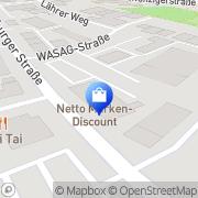 Karte Netto Filiale Neumarkt, Deutschland
