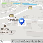 Karte Degen Caravan KG Eckersdorf, Deutschland
