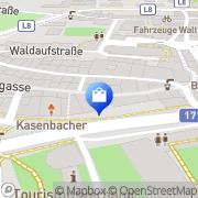 Karte Wacker Norbert Hall in Tirol, Österreich