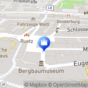 Karte Kur-u Stadtapotheke Magpharm Günther Pollack Hall in Tirol, Österreich