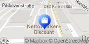 Karte Netto Filiale München, Deutschland
