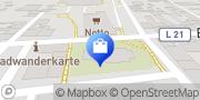Karte NETTO Deutschland - schwarz-gelber Discounter mit dem Scottie Bismark (Altmark), Deutschland
