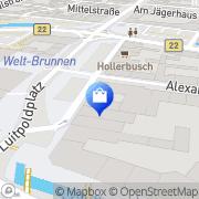 Karte Schautz Einrichtungen GmbH Bayreuth, Deutschland