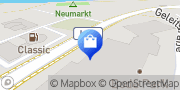 Karte NETTO Deutschland - schwarz-gelber Discounter mit dem Scottie Staßfurt, Deutschland