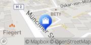 Karte Vodafone Shop Unterhaching, Deutschland