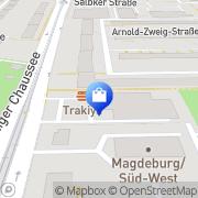 Karte Aldi GmbH & Co. KG Magdeburg, Deutschland