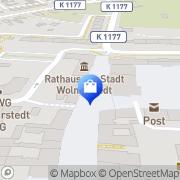 Karte Freiwillige Gerätehaus Wolmirstedt, Deutschland