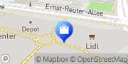 Karte NETTO Deutschland - schwarz-gelber Discounter mit dem Scottie Magdeburg, Deutschland